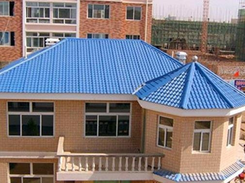 环保合成树脂瓦绿色建筑的应用